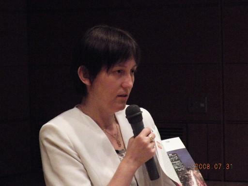 The Second Secretary of the Polish Embassy in Tokyo - Ms Bozena Socha