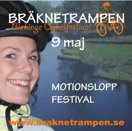 Ninni Norberg på Pagelsborg har blivit vår galjonsfigur för Bräknetrampen. Hennes glittrande blick ska locka folk till Bräknebygden.