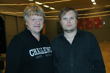 Göran Nilsson och Tobias Ödman planear för Augustifestivalen 2010