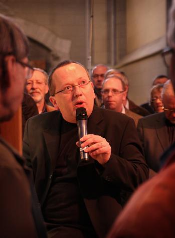 Andrew Canning berättar om nya orgeln i Uppsala domkyrka