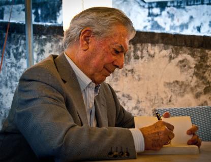 Nobelpristagaren Mario Vargas Llosa