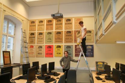 Datasalen under omvandlingen