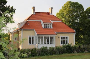 Inspektorbostadens, en del av Göholms herrgård