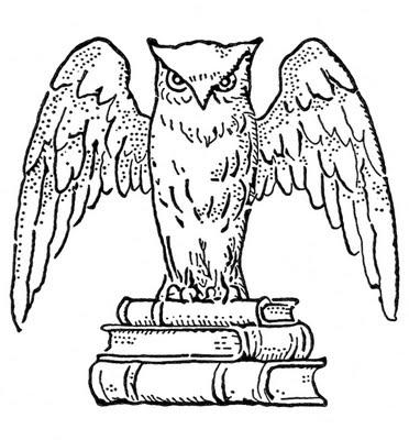 Ugglan symbolen för humaniora och allmänbildning