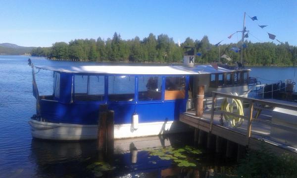 Båten vi åkte med