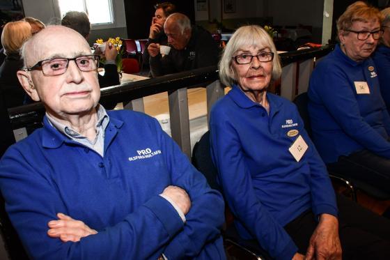 Per-Ingvar Johasson och Britt Persson var båda med och bildade PRO Olsfors/Hultafors för 22 år sedan. Båda deltog även i Våryran. Äldst i turneringen var de, 92 respktive 89 år.