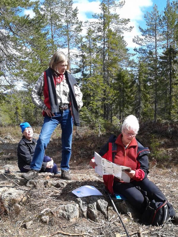 Anne-Marie, Eileen och Anki