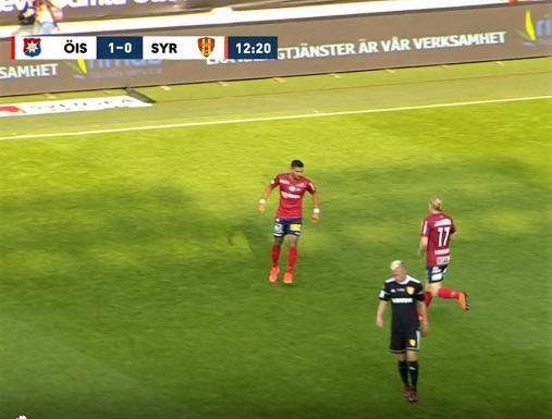 Ludde och Ailton (målskytt) ordnar 1-0
