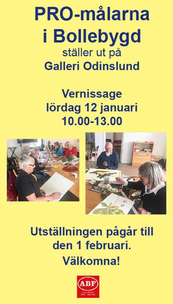 PRO-målarna ställer ut påGalleri Odinslund - bollebygdsnyheter.se. « a73019f2538d5