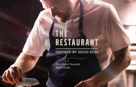 JCP's projekt The Restaurant för Volvo tog Experiential marketing till sin spets.