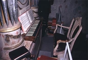 Okänd orgel? Maila redaktionen om du vet något om denna orgel.