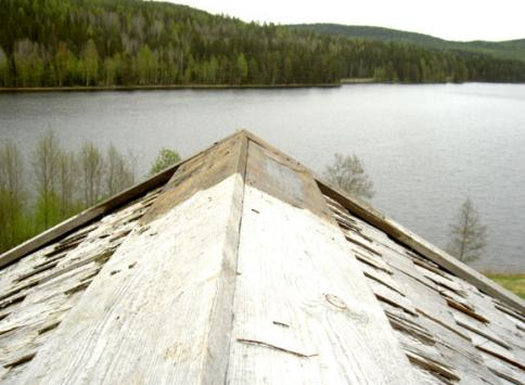 Från nocken breder utsikten ut sig över N:a Almsjön