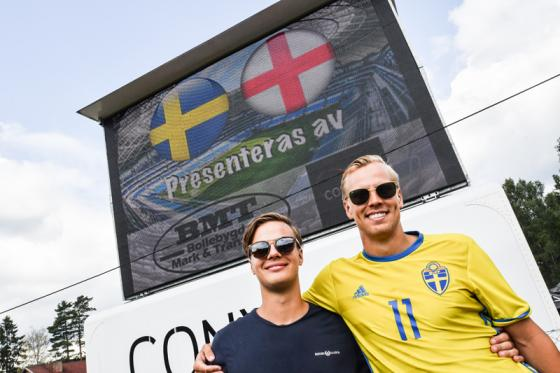 Felix Pedersén och Jesper Berens hoppas på stor publik på Bollevi.