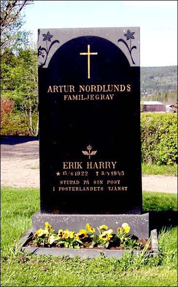Gravstenen vid Ullångers kyrka