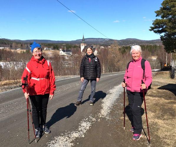 Anne-Marie, Eileen och Anki i Hump