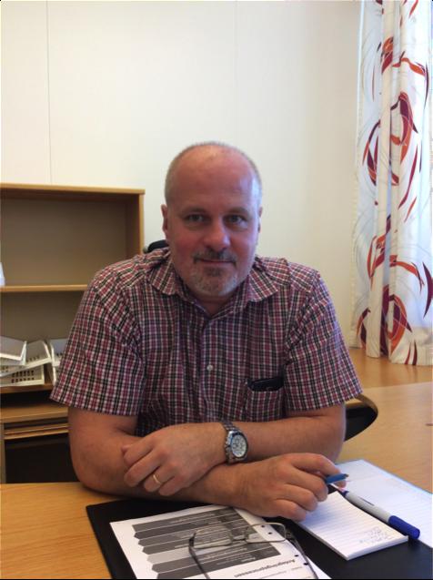 Hans Nordahl är 51 år och jobbarsom chef och utreder brott hos polisen iVästerås.