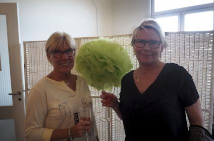 Lotta Lind Pettersson och Annika Blom.