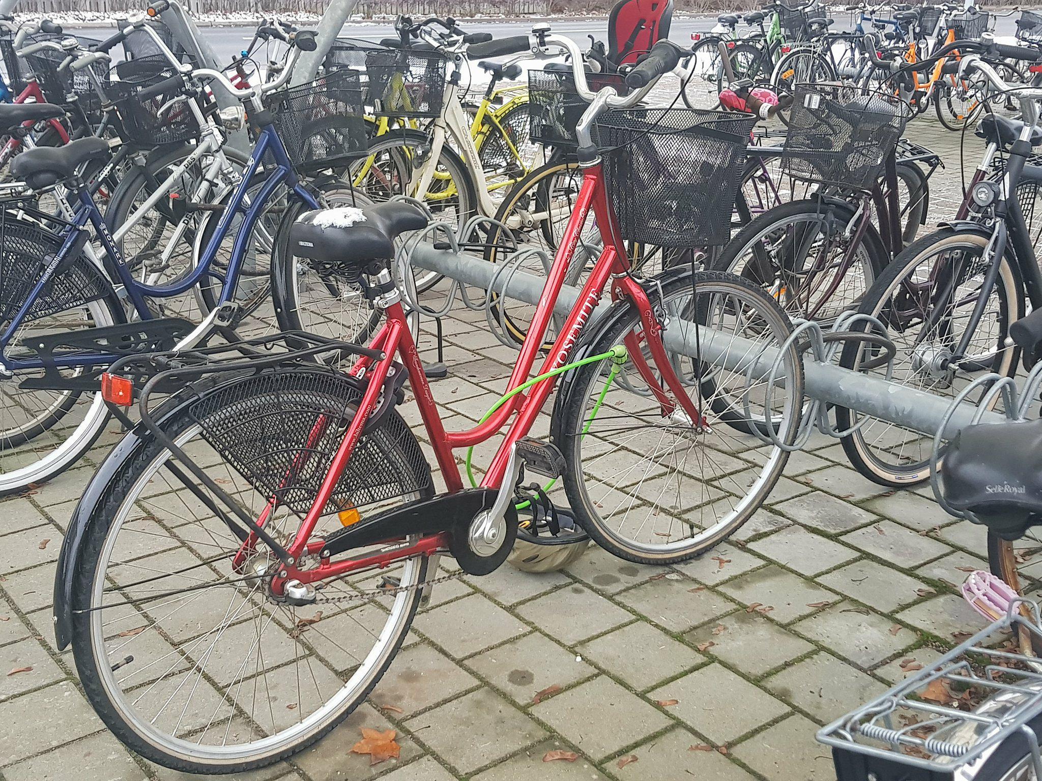 Cyklister far ta bussen till oland