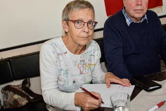 Lisbeth Karlsson skrev på listan som gör henne till volontär på Vägkorset.