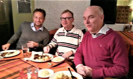 Stefan Hannus, Lars Hansson och Ulf Eklind