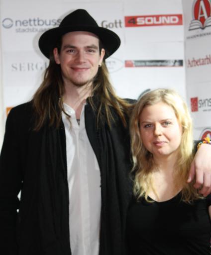 Petter och Rebecka.