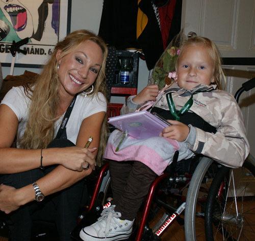 När jag träffade Charlotte Perrelli på min stora dag år 2008