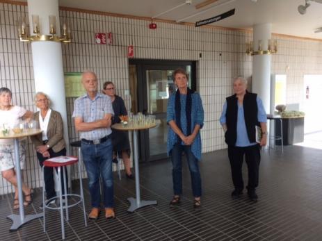 Eva Holmberg, Birgitta Steneld, Peter Dacke, Ingegerd Lindén och Erica Von Buxhoeveden har alla lagt ner mycket ideellt arbete för Bygd i Samverkan.