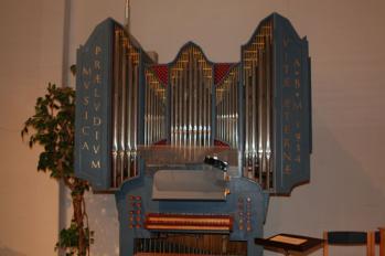 Bruno Christensens orgel från 1954