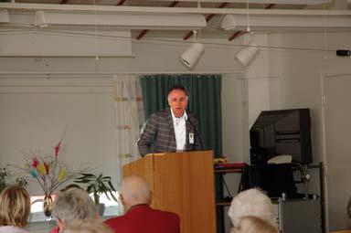 John Henriksson inledde Äldredagen