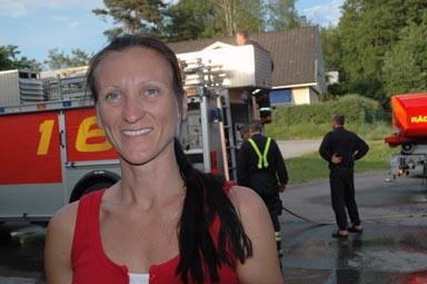 Mia Seppelin, kvällens övningsledare