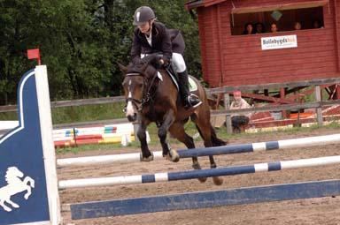 Hopptävlingar på Holmen i Bollebygd