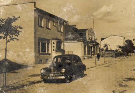 Stara apteka (zdjęcie z lat 60.).