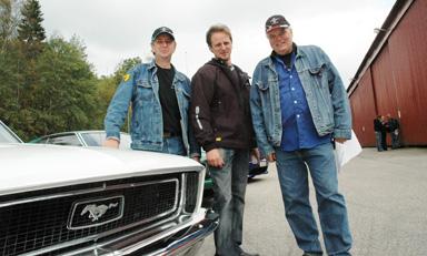 Trion Stef Reifenthal, Magnus Axelsson och Ingvar \