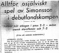 Ur Jönköpings Posten dagen efter \