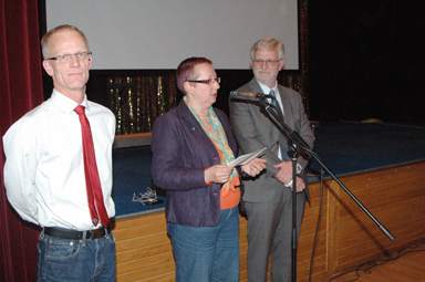 Pelle Pellby, Anette Eiserman-Wikström och Christer Johansson. Alla tre ordförande för varsin kommun, Mark, Härryda och Bollebygd. Och alla lika överens om att de lagt en bra grund för fortsatt samarbete mellan de tre kommunerna.