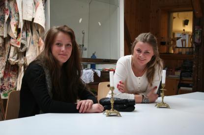 Alicia Brodin och Annie Widman från Källmur