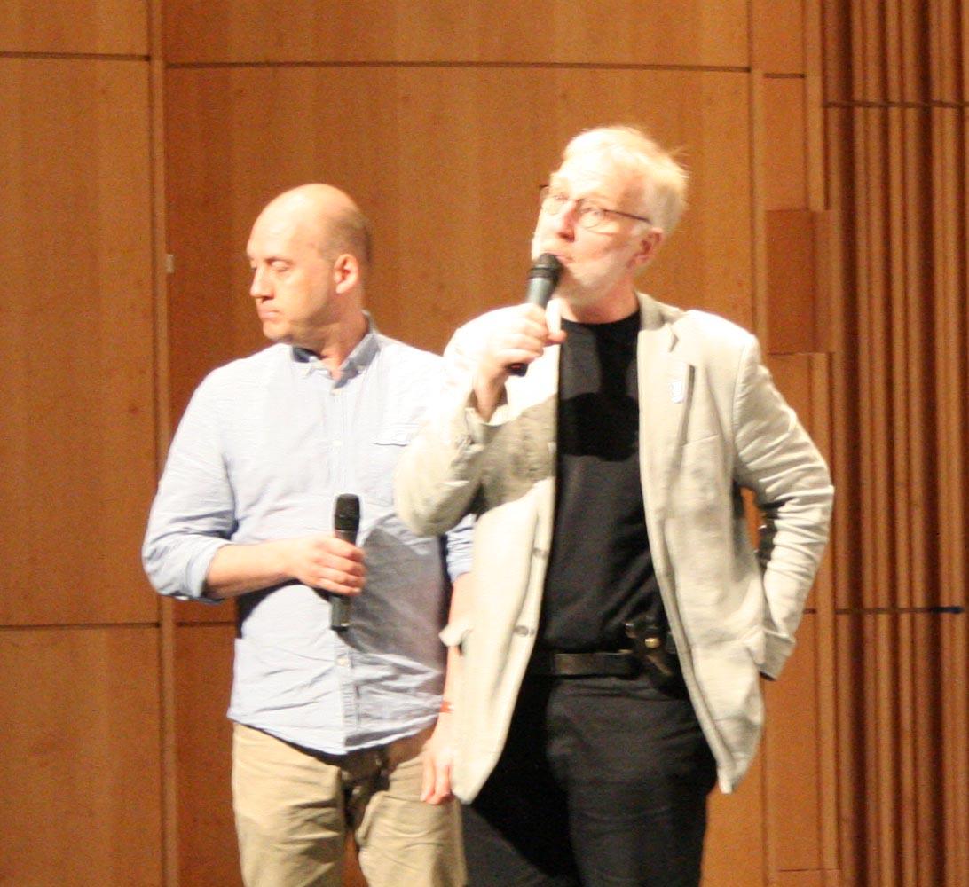 Mattias Lysell och Bertil Fält
