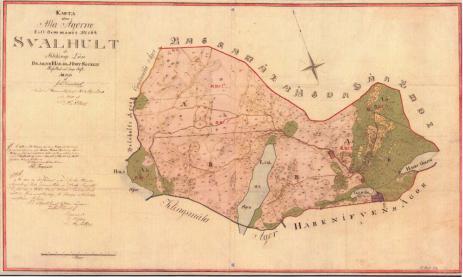 Lagaskifteskartan 1836