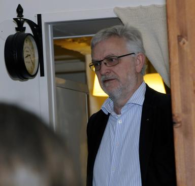 Kommunstyrelsens ordförande Christer Johansson (M).