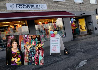 Görel Antonssons modeaffär firar just nu 25-årsjubileum.