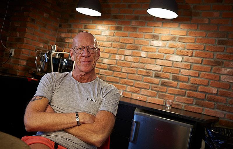 Träning för Svenssons. Lars Häggblad driver Svensons hälsocenter och vill kunna erbjuda träning för alla, oavsett hur träningsvan man är.