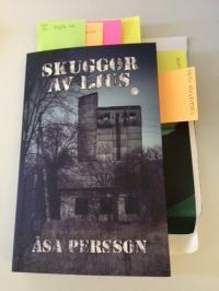 I februari fick Åsa äntligen se sitt arbete med texten som färdig bok.