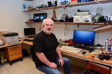Ralf Wintsten ser till att din dator fungerar.