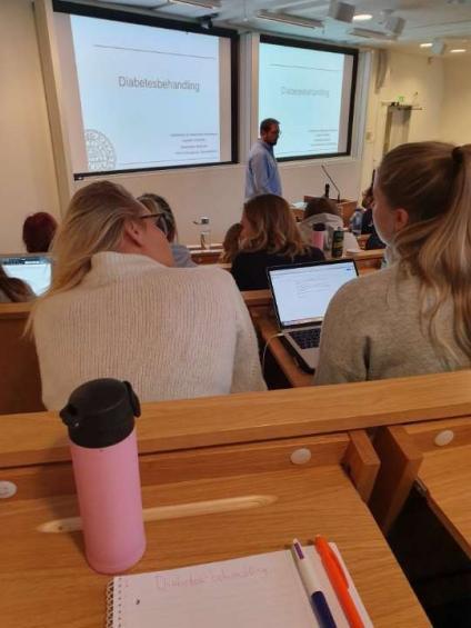 Såhär kan det se ut på en föreläsning