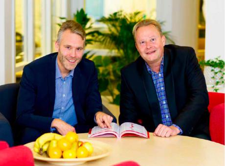 Peter Lindhe och Niklas Linder hos Marknadsinformation i Sverige AB.