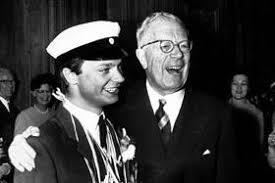 Den blivande kungen som student 1966