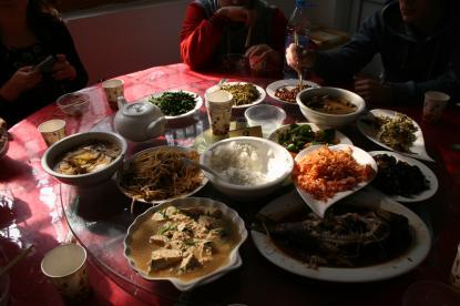 Kinesisk lunch
