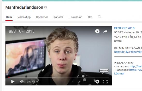 Vinnaren av Best of youtubers 2015!!