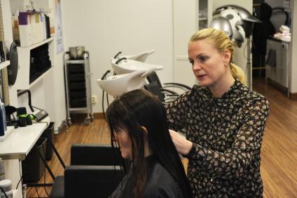 Efter 25 år i branschen älskar Anna-Maria sitt jobb och kan inte tänka sig något roligare yrke.