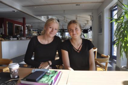Alma och Magdalena från SA18